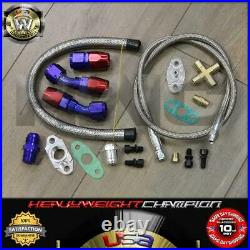 2000-2007 BMW E46 325 330 i6 Turbo Charger Kit T3/T4 Manifold+Intercooler+Bov