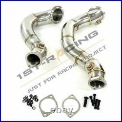 3 Catless Downpipe For 07-10 BMW N54 B30 135i/335i E82 E90 E91-E93 E82 3.0L