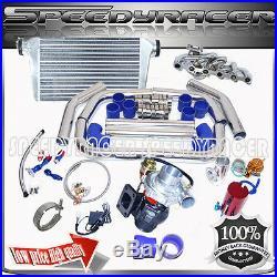 84-91 Bmw E30 325 Turbocharger Manifold Intercooler Turbo Kit