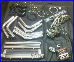 BMW E34 E32 E28 M30 Turbocharger Kit Turbo Conversion 530i 535i Compressor Also
