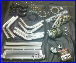 BMW E36 E46 E39 Turbocharger Turbo Kit Conversion 328 330 I 528 Compressor M50