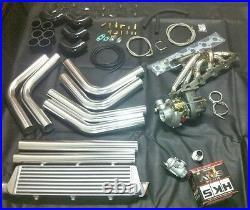 BMW E36 E46 E39 Turbolader Kit Turbo Umbau 328 330 i 528 Kompressor M50 M52 M54