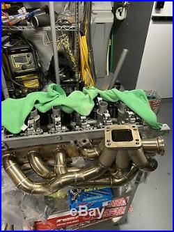 BMW E46 M3 S54 CXRacing Top Mount Turbo Manifold