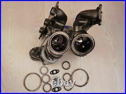 Billet 6+6 17T Turbo TD04L + Upgraded Inlets Combo Kit BMW N54 335i 535i E90 E92
