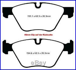 EBC Brake Pads Yellowstuff Front+Rear For BMW 3er (E91 E92 E93)