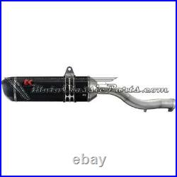 EXHAUST / Exhaust Turbokit BMW R 1150 R (part final in Carbon)