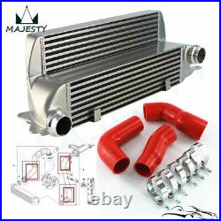 For BMW E60 E61 5 Series 530d 525d Red Intercooler Silicone Turbo EGR Hose Kit