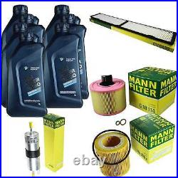 Inspection Set 7L Pour BMW Huile Twin Énergie Turbo 5W-30 1er Coupé E82 3er