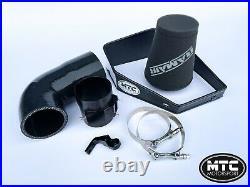 MTC MOTORSPORT BMW M140i B58 TURBO INTAKE HOSE KIT RAMAIR FILTER CUSTOM H/SHIELD