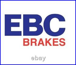 NEW EBC 284mm FRONT TURBO GROOVE GD DISCS AND YELLOWSTUFF PADS KIT PD13KF101