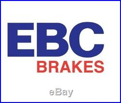 NEW EBC 296mm FRONT TURBO GROOVE GD DISCS AND REDSTUFF PADS KIT PD12KF069