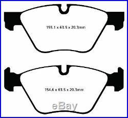 New Ebc Yellowstuff Front And Rear Brake Pads Kit Performance Pads Padkit2174