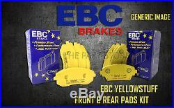 New Ebc Yellowstuff Front And Rear Brake Pads Kit Performance Pads Padkit2175