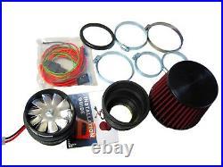 Performance Electric Air Intake Supercharger Fan Power Kit BMW E36 E46 E90 F30