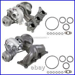 Stigan Twin Turbo Kit with Turbocharger Gaskets For BMW 135i 535xi 535i Z4
