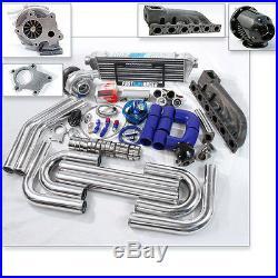 T04E T3 T3/T4 Turbo Kit BMW 323I 325I 328I E36 E46 V6 M50B25 M52B25 B54 B56 S50