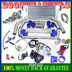 T3/t4 Turbocharger Manifold Intercooler Turbo Kit For 84-91 Bmw E30 325