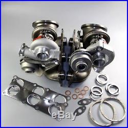 TD03L Twin Turbocharger sets for BMW E90 E92 E93 135i 335i N54 B30 3.0L 2PCS New