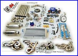 TURBO KIT BMW E46 E39 M54 M54 B30 M52 M50 2.5 2.8 3.0 STAGE 2 TURBOKIT k64