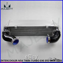 TWIN TURBO INTERCOOLER KIT for BMW 135 135i 335 335i E90 E92 2006-2010 N54 black