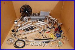 Turbo Kit SS Manifold for BMW M3 323 325 328 E30 I6 SOHC T3 M20 2.5L/2.7L BOV