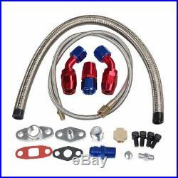 Turbo Kit T3/T4 for 00-07 BMW E46 325 328 330 I6 3-SERIES IC WG BOV Manifold BK