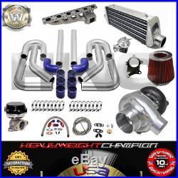 Turbo Kit T3/T4 for 91-00 BMW E36 323 325 328 M3 3-SERIES IC WG BOV Manifold BL