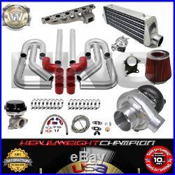 Turbo Kit T3/T4 for 91-00 BMW E36 323 325 328 M3 3-SERIES IC WG BOV Manifold RD